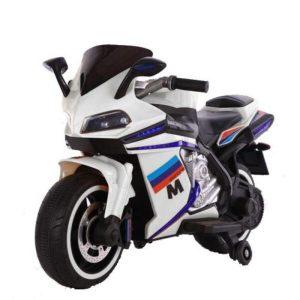 Ηλεκτροκίνητη Μηχανή 12V Sport White Moni