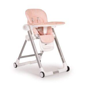Καρέκλα Φαγητού Brunch Pink Cangaroo (ΔΩΡΟ Σετ Σαλιάρες 3τμχ+Σετ κουταλάκια 2τμχ)