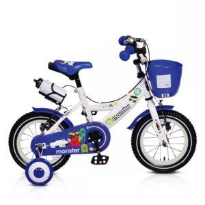 """Παιδικό Ποδήλατο 12"""" Monster 1281 Blue Moni"""