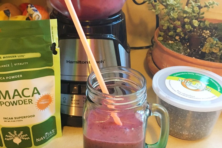 maca powder smoothie