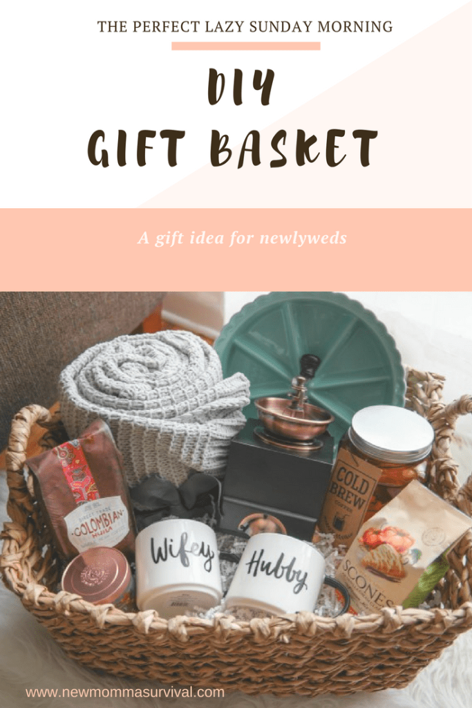 a cozy morning gift basket