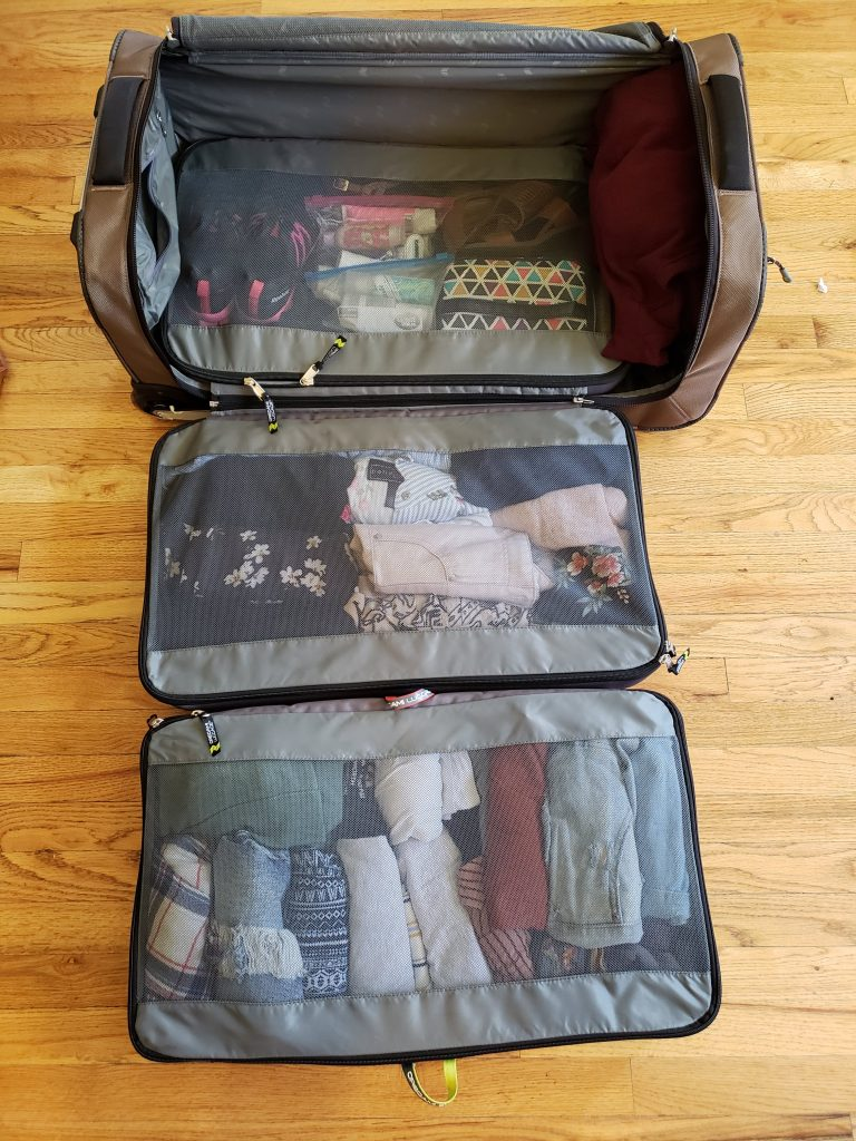 luggage for the organized traveler