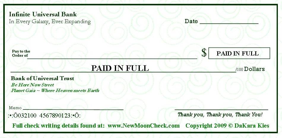 graphic relating to Printable Abundance Check referred to as Abundance Tests Fresh Moon Manifesting Gain