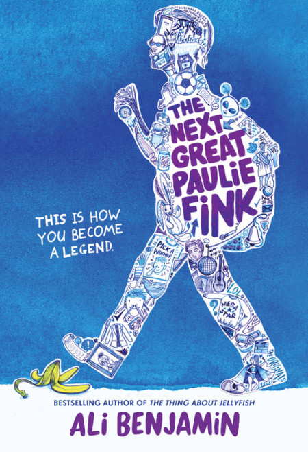 Book cover image for The Next Great Paulie Fink by Ali Benjamin
