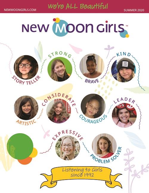 New Moon Girls Cover of Summer 20 magazine