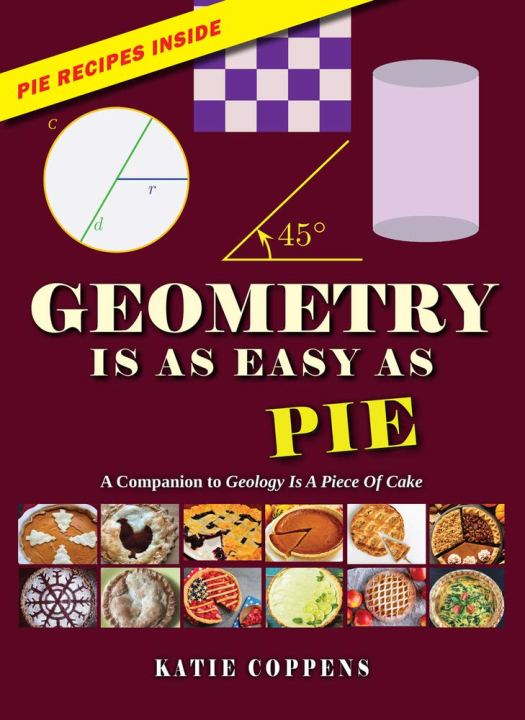 Book cover image for Geometry is as Easy As Pie by Katie Coppens