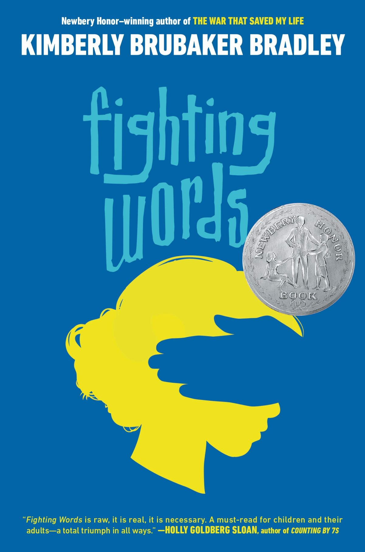 Book cover image for Fighting Words by Kimberly Brubaker Bradley