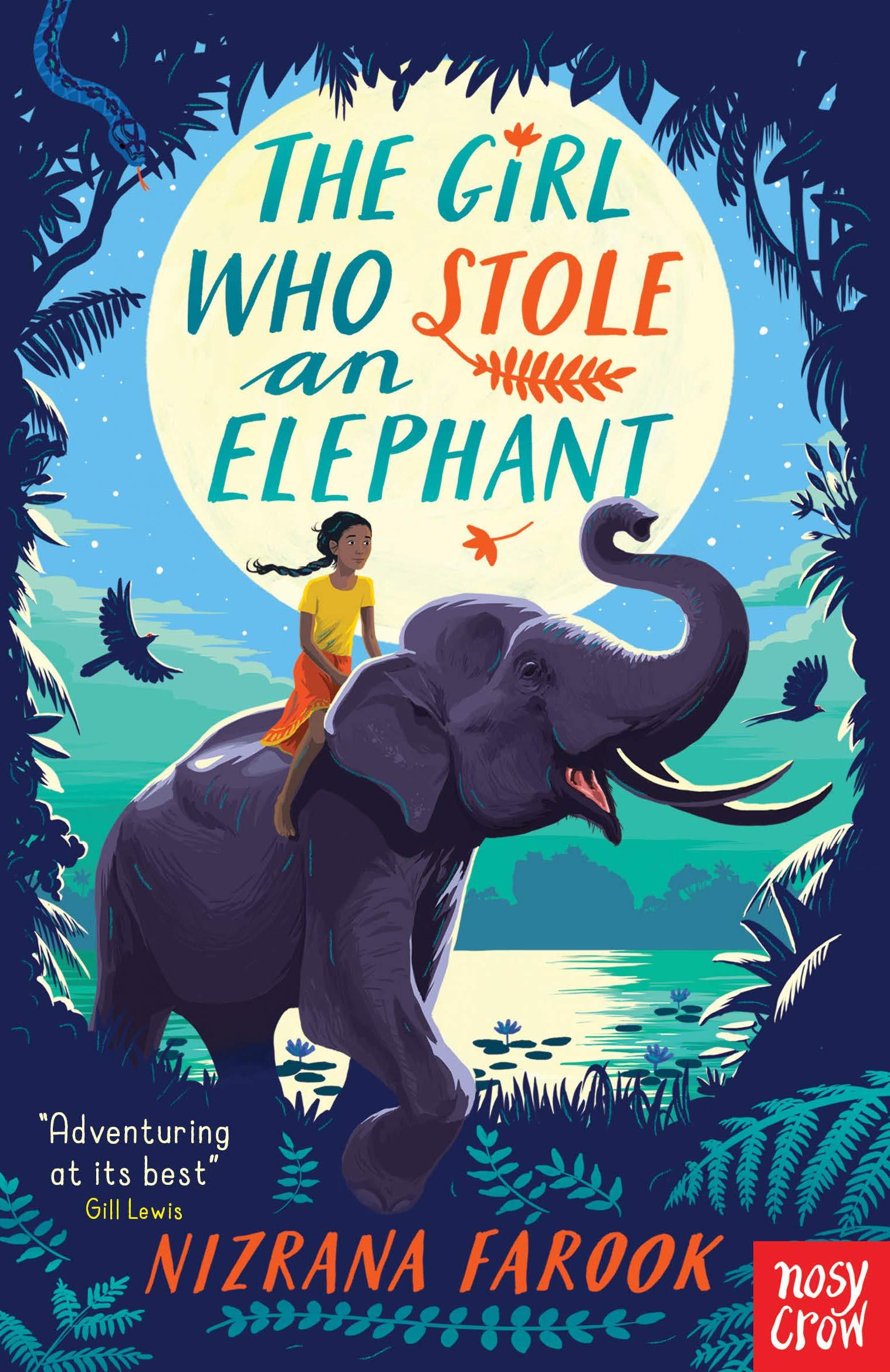 Book cover image for The Girl Who Stole an Elephant by Nizrana Farook