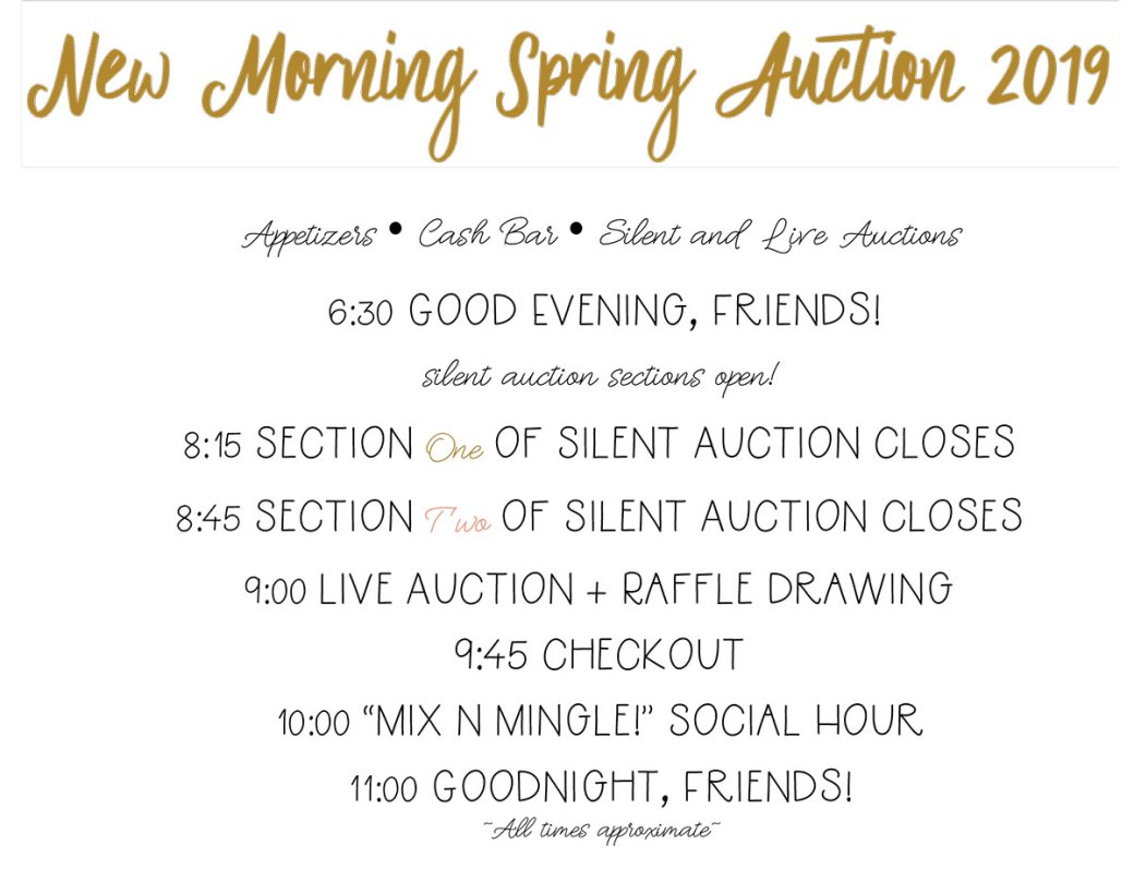 Auction timeline