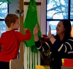 katelyn ewing - new morning school - kindergarten 2019 - high 10