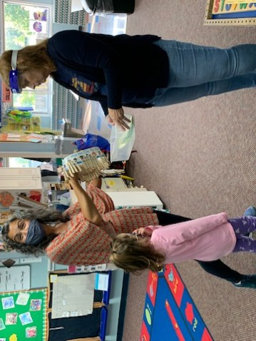 Preschool children learning and interacting in Plymouth, Michigan.