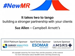 Suz Allen NewMR April Lecture - Thumbnail