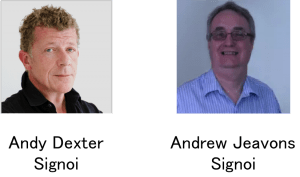 Andy Dexter and Andrew Jeavons