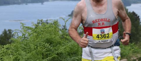 Photo of Ray Poynter trail running