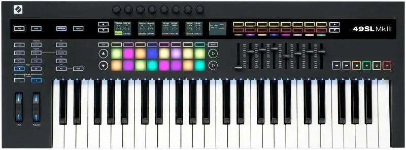 Novation SL49 MkIII, tastiera master top class