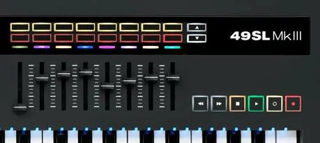 Novation SL49 MkIII, tastiera master top class - New Musical