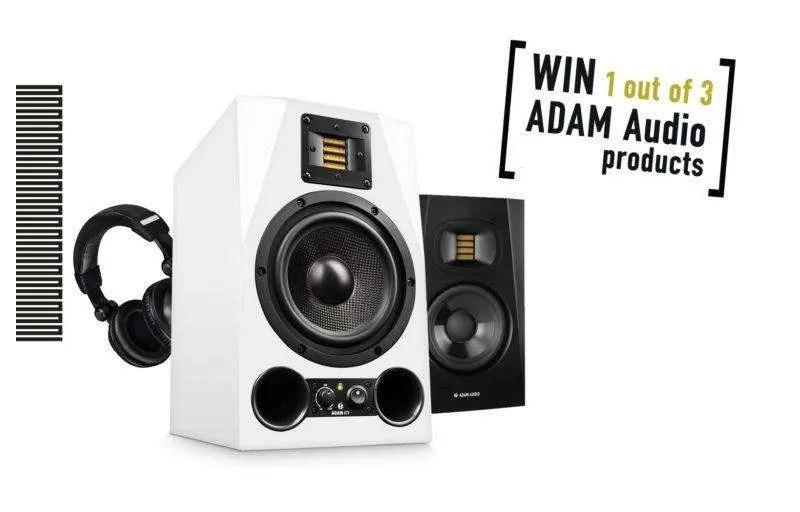 ADAM Audio: una coppia di A7x da vincere per celebrare i 20 anni dell'azienda