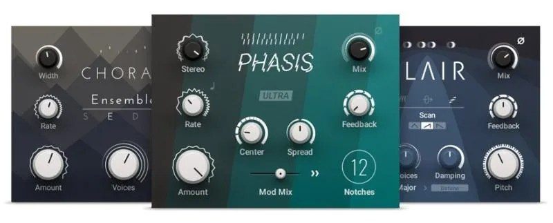Native Instruments Mod Pack: Choral, Flair e Phasis