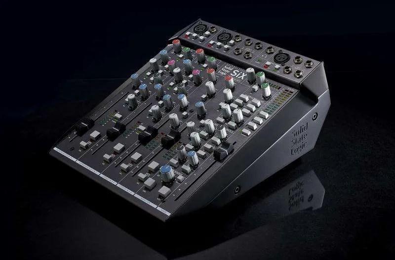 Solid State Logic SiX: desktop mixer con la leggendaria qualità di SSL, a circa 1200 €!