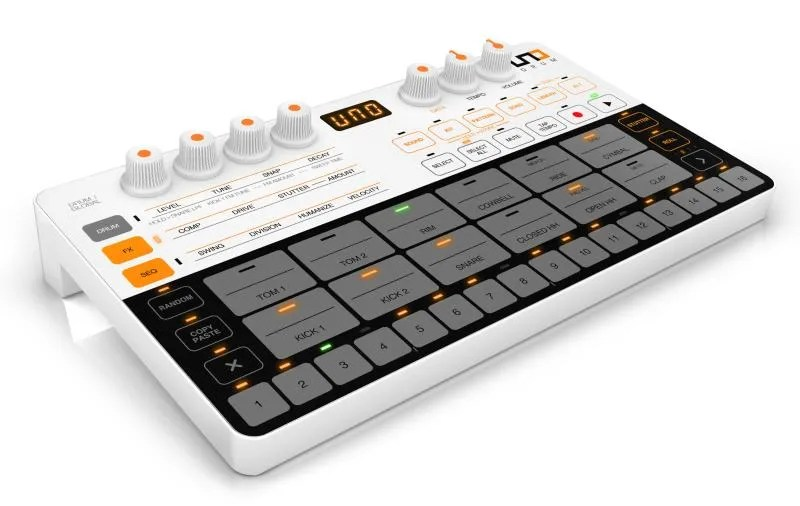 IK Multimedia Uno Drum: una drum machine da urlo in 400 grammi