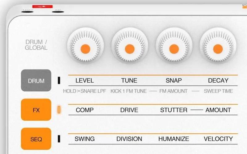 IK Multimedia UNO Drum - Editing Matrix