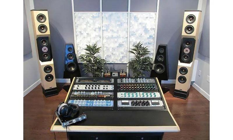 Lo studio di mastering di Sage Audio, Nashville (USA)