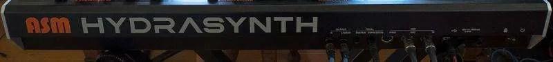 ASM Hydrasynth - Il pannello posteriore