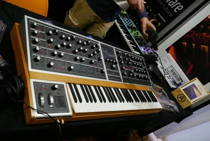 Soundmit 2019 - Moog One + Matriarch