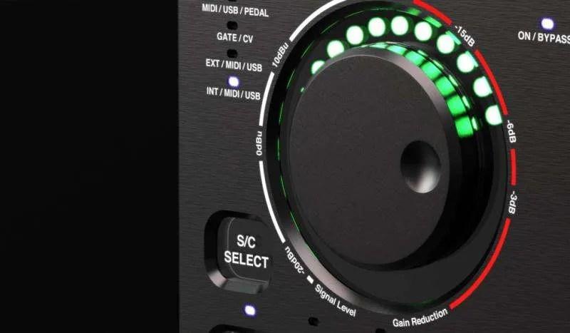 SuonoBuono nABC - La manopola di controllo e il LED Meter