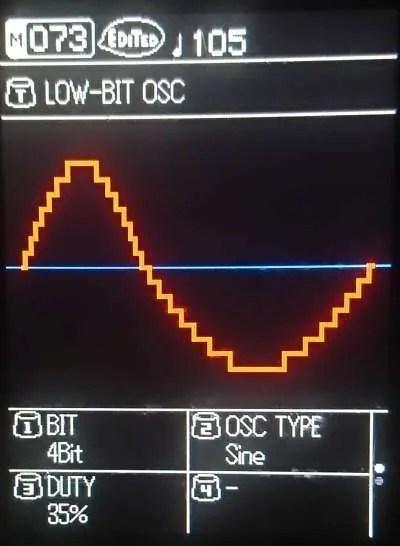 Sonicware ELZ_1 - Low bit oscillator
