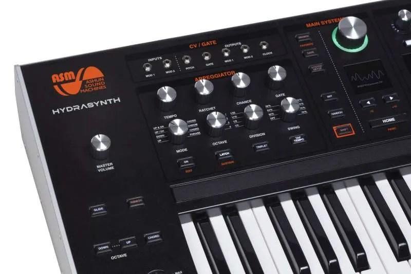 ASM Hydrasynth Key - dettaglio tastiera