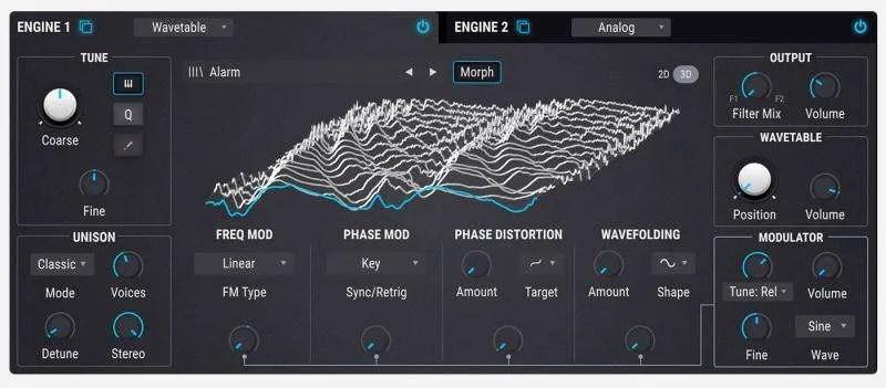 Arturia Pigments 2 - Il Wavetable Engine