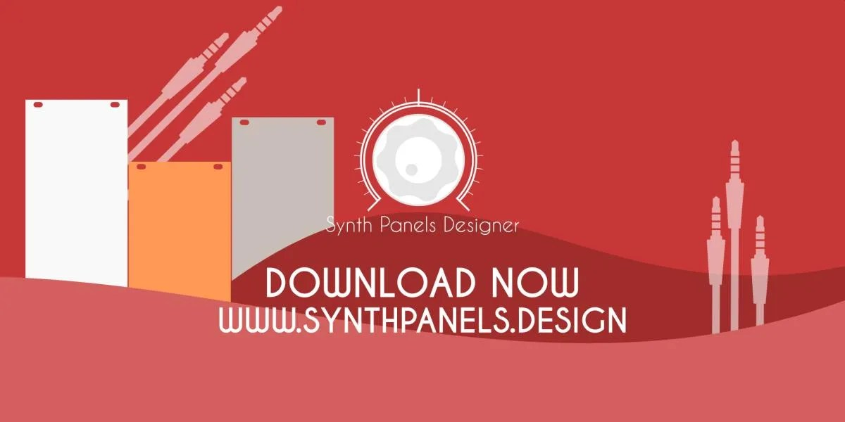 Synth Panels Designer, estensione gratuita per Inkscape per disegnare l'interfaccia utente dei vostri synth.