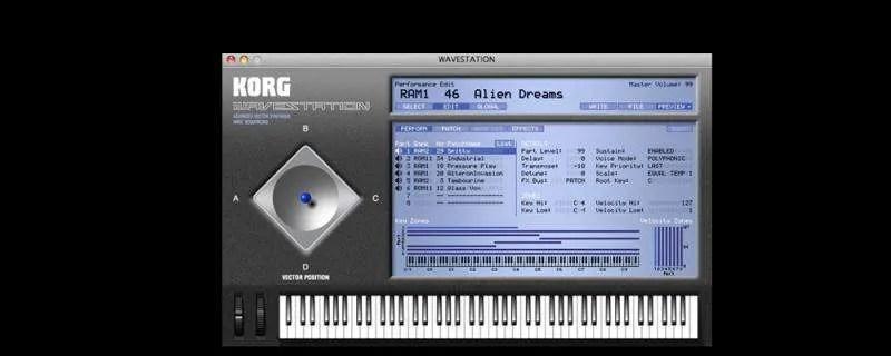 Korg Wavestation Legacy Collection