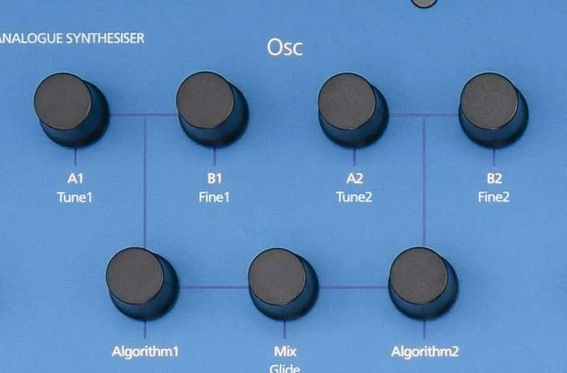 MODAL COBOLT8 controllo oscillatori