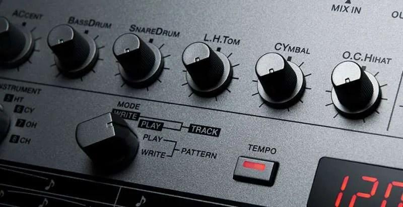Roland TR-06 - Le manopole di volume