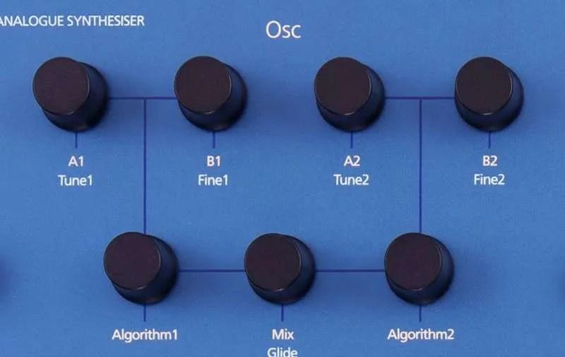 MODAL COBALT8 Il blocco oscillatori