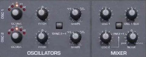 Sequential Take 5 - Il blocco oscillatori e mixer