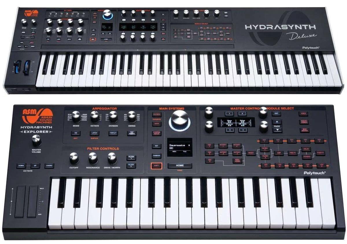 Ashun Sound Machine Hydrasynth: adesso anche in formato mini e maxi!
