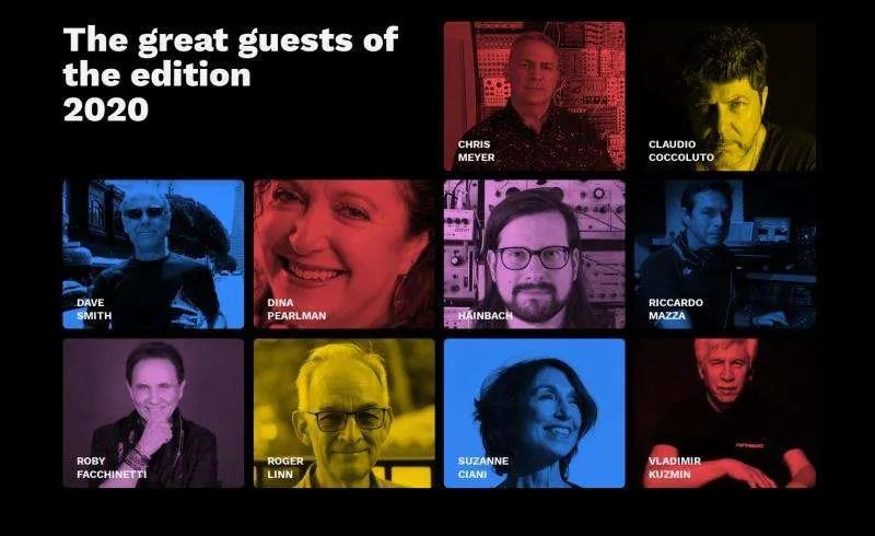 Gli ospiti dell'edizione 2020 del Soundmit