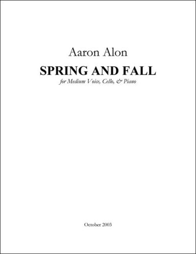 Alon Spring and Fall