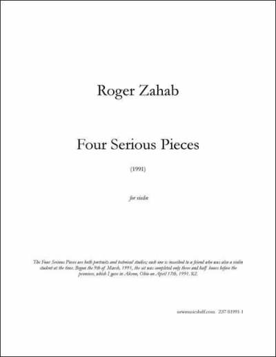 Zahab Four Serious Pieces Z57-S1991-1