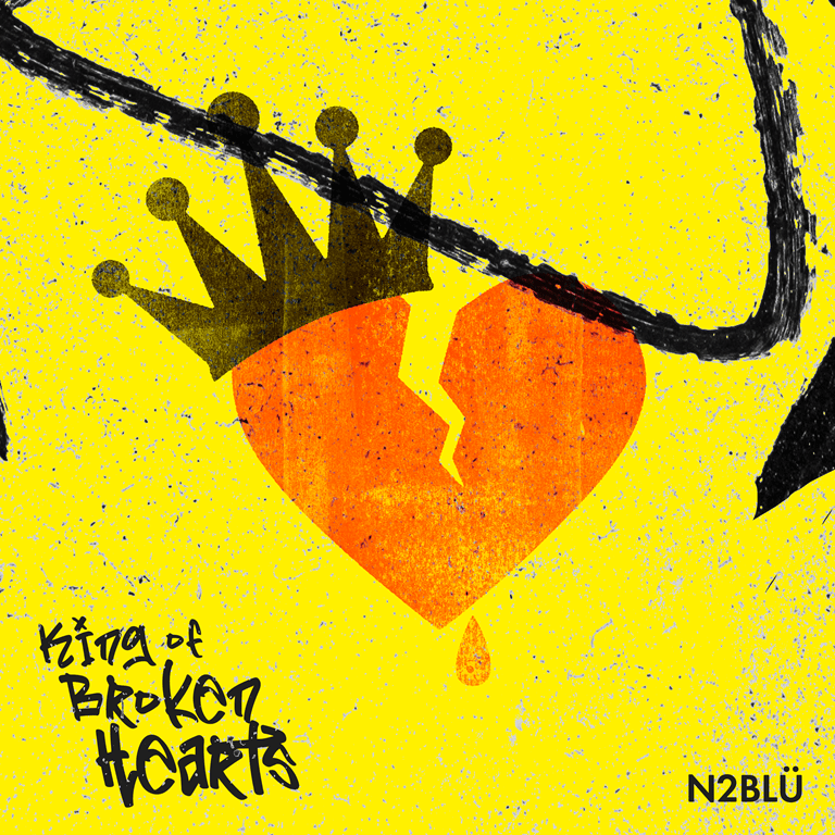 Following their prolific 'pop hit factory' string of Indie dance hits, N2BLÜ return with the marching and brave synth pop sound of the LGBTQIA crowd as they set free their 'King of Broken Hearts'