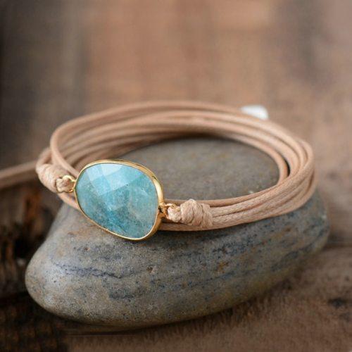 High-End-Wrap-Bracelet-Natural-Stones-Amazonite-Boho-Long-Friendship-Bracelet-Statement-Bracelets-Women-Gifts-Dropshipping