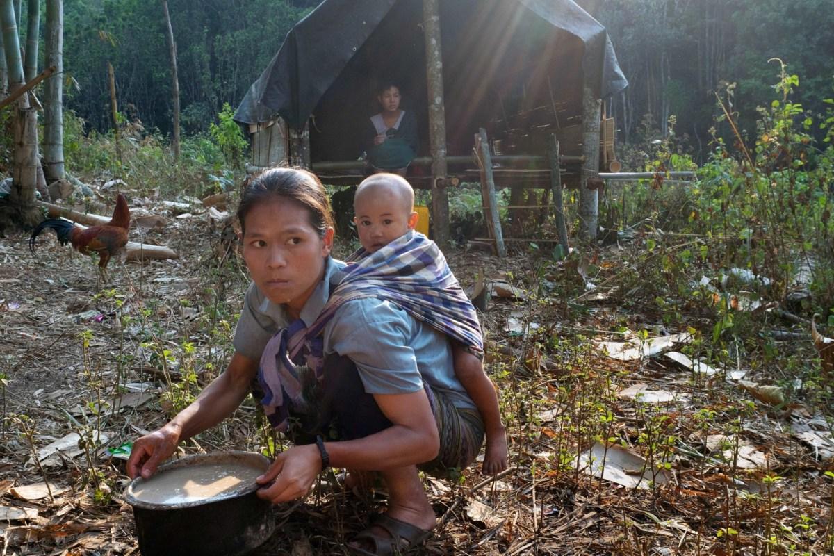 Uprooted Citizens From Myanmar's Thaw Ku Mu Dae Village - New Naratif
