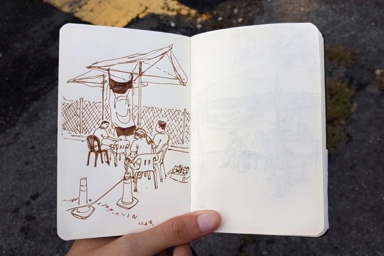 Pakatan Harapan Volunteers Under Tent - New Naratif