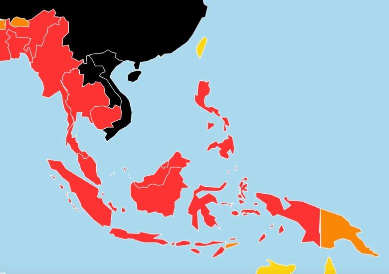 2018 World Press Freedom Index