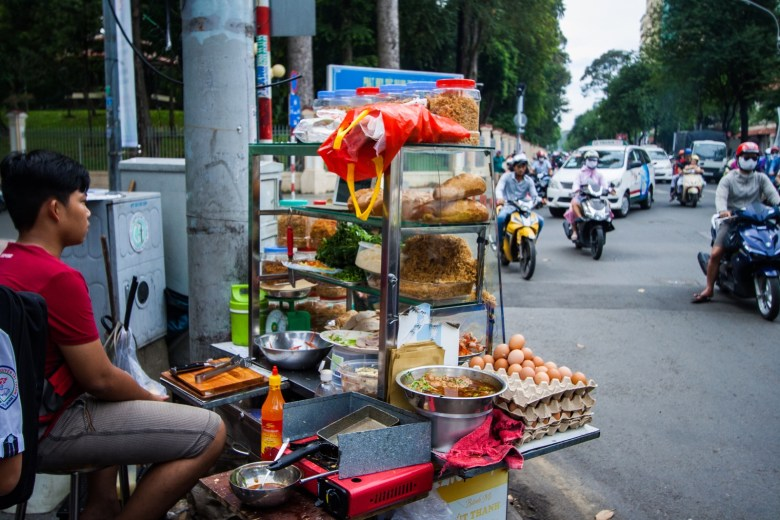 Sidewalk Vendor - New Naratif