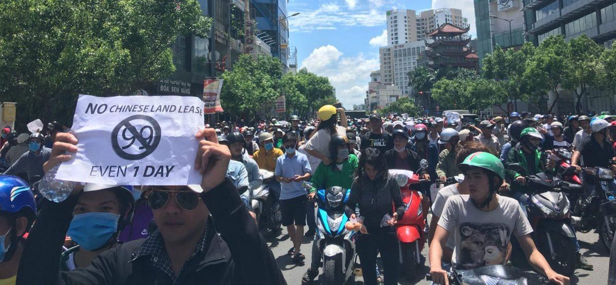 Protest in Ho Chi Minh City - New Naratif