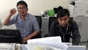 Wa Lone and Kyaw Soe Oo - New Naratif